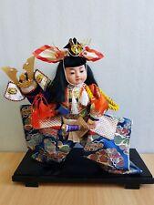 Vintage Japan Made Samurai Warrior May doll (Gogatsu Ningyo) (30 cm)