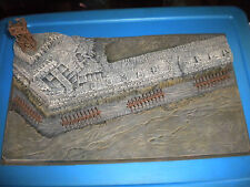 "Airfix Type 1/72 Ancient ""ROMAN STONE WALL"" Painted Diorama Battlefield Base"
