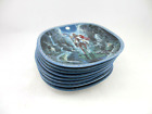 """Set of 8 Diana Stanley """"Visions of the Sacred"""" Collectors Plates"""