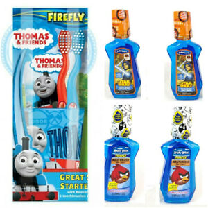 Firefly Thomas & Friends Great Smile Starter Set Toothbrush +6 Mouthwashes 3-6yr