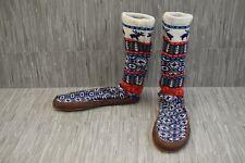 **Acorn Maine Sock Slippers, Men's Size 10.5-11.5, Navy