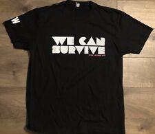 We Can Survive 2014 Hollywood Bowl Crew Black Concert Shirt Ariana Grande Medium