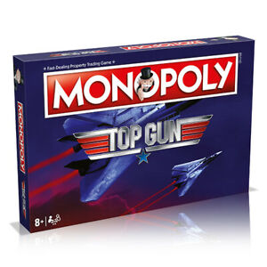 Top Gun Monopoly Board Game Winning Moves Kids Family Party