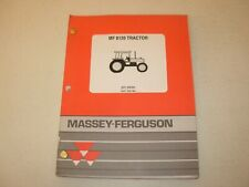 Massey Ferguson MF 8120 Tractor Parts Manual , issued 1995