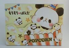 Kamio Japan Popcorn Panda Bear Large Memo Pad  Stationery Kawaii