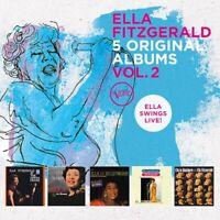 ELLA FITZGERALD - 5 ORIGINAL ALBUMS VOL.2  5 CD NEW