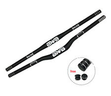 BNVB Bike Bar UD Matte Full T800 Carbon Fiber MTB Handlebar Riser/Flat 31.8mm