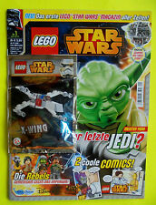 Lego Star Wars Comic Magazin Nummer 1  X-Wing Limited Edition
