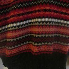Kim Rogers  Red & Black Sweater, 100% Cotton  , Size L,