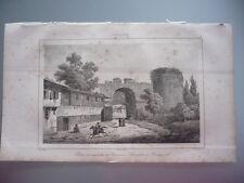TURQUIE 1840 PORTE ANCIENNE CITADELLE ANDRINOPLE