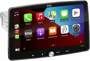 """Boss BCPA10 10.1"""" Single-DIN Apple CarPlay & Android Auto Car Stereo Receiver"""