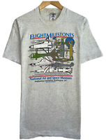 National Air & Space Museum Smithsonian Institution Vtg '90 Men's Size L T-Shirt
