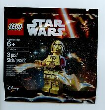 LEGO Star Wars The Force Awakens C-3PO Polybag 5002948 minifig droid Ep7 red arm