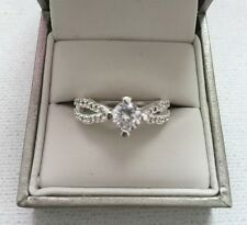 Cubic Zirconia Ring - With Solitaire Cubic Zirc stone - Perfect Gift