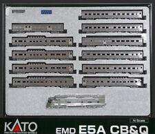 SPUR N US CALIFORNIA ZEPHYR UND PASSENDE E5A - DCC-DIGITAL MIT SOUND