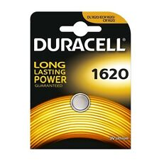 DURACELL BATTERIA CR1620 PILA BOTTONE A LITIO 3V DL1620/ECR1620