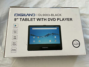 Digiland 9 Inch Tablet With DVD player New Android 8.1 Go 16 GB Storage 1 GB Ram