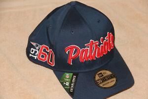 New England Patriots Cap New Era 39THIRTY Hat Medium/Large 2019 On Field NFL