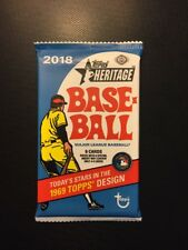 HOBBY 2018 Topps Heritage Baseball ROA Real One AUTO AUTOGRAPH Hot Pack