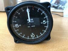 New listing Wwll Vintage Aircraft Tachometer Kohlsman