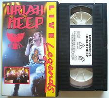 URIAH HEEP - Live legends - VHS