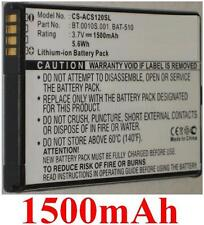 Batterie 1500mAh Pour ACER Liquid Metal MT,  S120, BAT-510 (1ICP5/42/61)