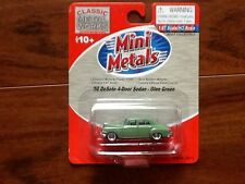 CLASSIC METAL WORKS 1/87 HO 1950 DE SOTO 4-DOOR SEDAN GLEN GREEN ITEM #30313 F/S