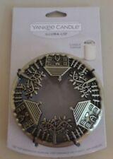 NEW Yankee Candle Illuma-Lid Metal Jar Candle Topper-HOME-IMPROVE CANDLE BURN