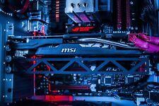 Video Card Holder Adjustable GPU Brace Desktop Computer Gaming Stand Case Mod