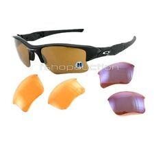 Oakley 03-951 FLAK JACKET ARRAY XLJ Black Gold Persimmon G30 Mens Sunglasses .