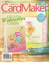 CARD MAKER,  SPRING, 2014   (HAND CRAFTED GREETINGS FOR ALL OF LIFE'S OCCASIONS