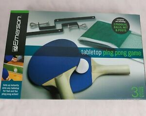 Emerson-Tabletop Ping Pong Game-NEW Open BOX