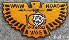 2015 NOAC Lodge 138 Ta Tsu Hwa - 100th Anniversary - Fund Raiser Orange BSA/OA