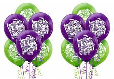 "12ct Teenage Mutant Ninja Turtles Latex Balloon Boys Birthday Party Supplies 12"""