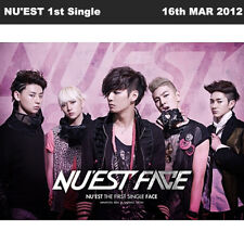 NU'EST NUEST FACE THE FIRST SINGLE Album CD+Photobook KPOP