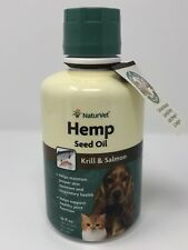 New listing NaturVet Hemp Seed Oil Plus Krill&Salmon Joint Health Dogs Cats 16oz