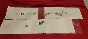 Adventures of Sonic The Hedgehog Animation Cel Dic Sega Lot 1993
