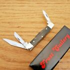 Frost Cutlery Baby Diamond Pocket Knife Stainless Blade Buffalo Horn Handle