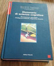 DIZIONARIO DI SCIENZE COGNITIVE NEUROSCIENZE, PSICOLOGIA EDITORI RIUNITI 2000