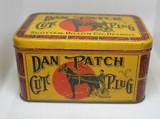 Vintage Dan Patch tobacco tin * NICE!!