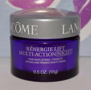 LANCOME Renergie Lift Multi-Action NIGHT Lifting & Firming Night Cream .5 OZ GWP