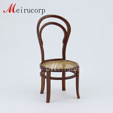 Dollhouse 1/12 scale miniature furniture Wooden hand made  Reticular Chair