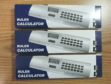 "Solar Ruler Calculators ( Lot Of 3 ) Eight Inch 8"" Home Schooling Office Other"