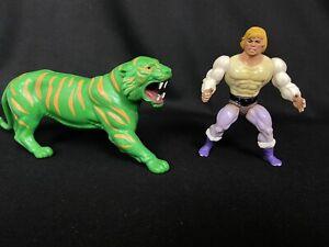 Vintage MOTU Masters of the Universe Prince Adam Cringer Figures Mattel 1980s