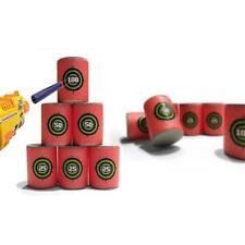 6x EVA Soft Bullet Target Dart For NERF N-Strike Elite Series Blasters Kids Toy