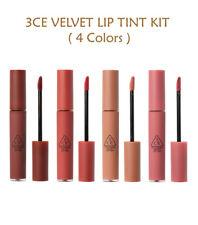 [3CE Stylenanda] 3CE Velvet Lip Tint Kit (4 Colors) - 4g