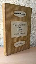 The Mysterious Affair at Styles, Agatha Christie, Longman, London, 1965