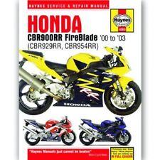 Haynes Workshop Service & Repair Manual for Honda CBR954RR Fireblade 2000-2003
