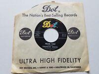 "FRANCIS CRAIG - Near You / Beg Your Pardon 1950's JAZZ POP 7"" Dot Records"