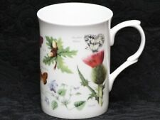 ROSE of ENGLAND BUTTERFLY GARDEN Fine Bone China Cylinder Medium Mug #B3